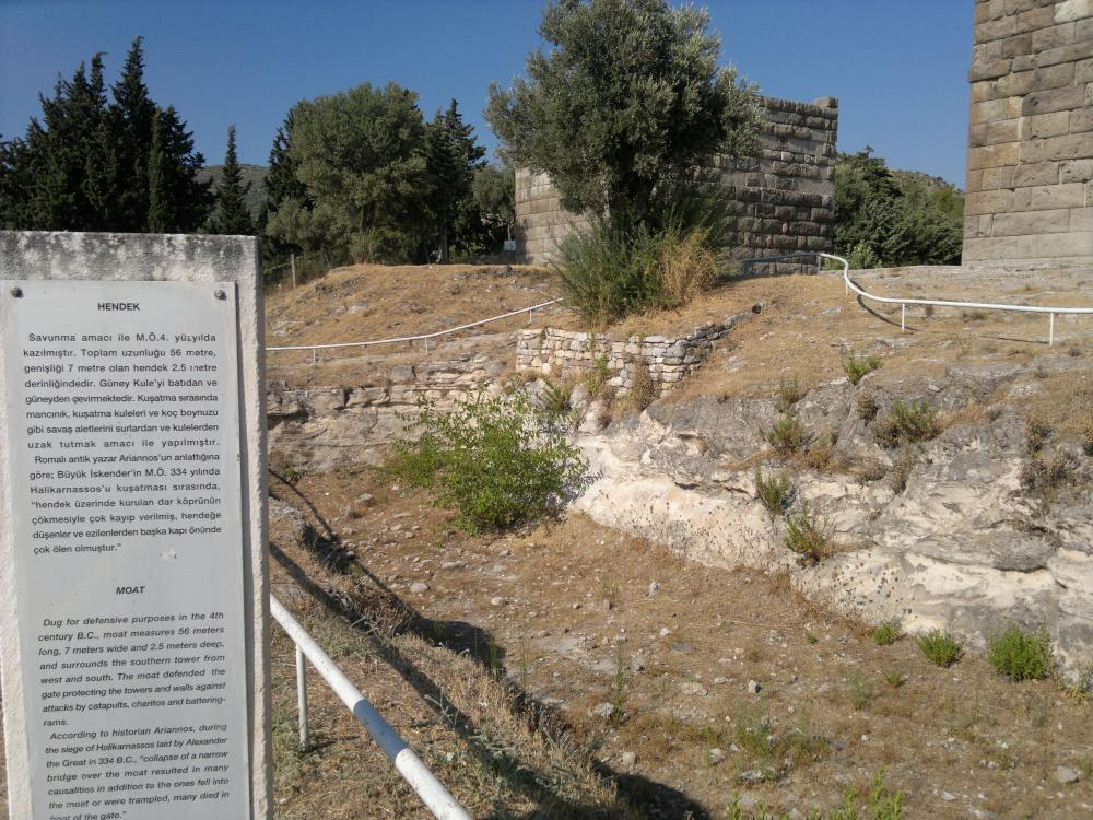 THE GATE WHICH ALEXANDER THE GREAT CURSED : MYNDOS