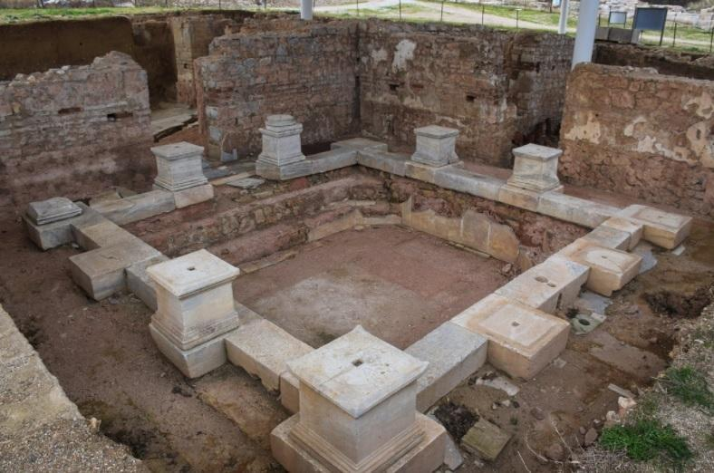 THE ROMAN BATH (709 BC. THE ANCIENT CITY OF PARION/ÇANAKKALE)