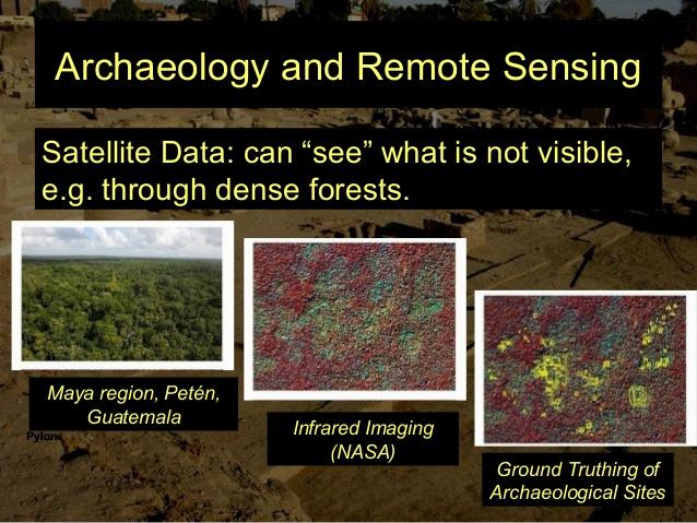 REMOTE SENSING FOR ARCHAEOLOGY